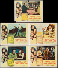 """From Here to Eternity (Columbia, 1953). Lobby Cards (5) (11"""" X 14""""). Academy Award Winners. ... (Total: 5 Item..."""