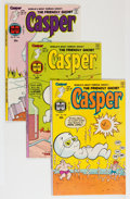 Bronze Age (1970-1979):Cartoon Character, Friendly Ghost Casper File Copy Group (Harvey, 1976-89) Condition:Average NM-.... (Total: 136 Comic Books)
