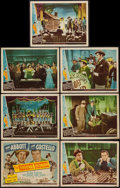 """Movie Posters:Comedy, The Naughty Nineties (Universal, 1945). Title Lobby Card and Lobby Cards (6)(11"""" X 14""""). Comedy.. ... (Total: 7 Items)"""