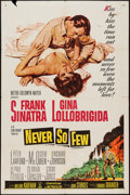 "Movie Posters:War, Never So Few (MGM, 1959). One Sheet (27"" X 41"") & Lobby CardSet of 8 (11"" X 14""). War.. ... (Total: 9 Items)"