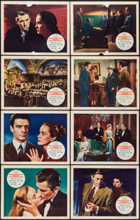 "The Paradine Case (Selznick, 1948). Lobby Card Set of 8 (11"" X 14""). Hitchcock. ... (Total: 8 Items)"