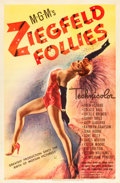 "Movie Posters:Musical, Ziegfeld Follies (MGM, 1945). One Sheet (27"" X 41"") Style C.. ..."