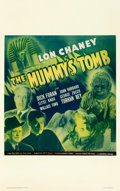 "Movie Posters:Horror, The Mummy's Tomb (Universal, 1942). Window Card (14"" X 22"").. ..."