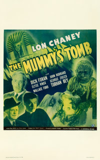 "The Mummy's Tomb (Universal, 1942). Window Card (14"" X 22"")"