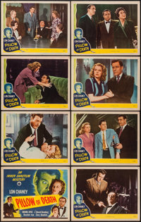 """Pillow of Death (Universal, 1945). Lobby Card Set of 8 (11"""" X 14""""). Horror. ... (Total: 8 Items)"""