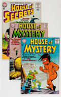 Silver Age (1956-1969):Horror, House of Mystery/House of Secrets Group (DC, 1962-64) Condition:Average VG/FN.... (Total: 19 Comic Books)