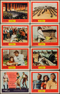 """Movie Posters:Adventure, The Pride and the Passion (United Artists, 1957). Lobby Card Set of8 (11"""" X 14""""). Adventure.. ... (Total: 8 Items)"""