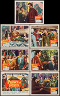 "Prince of Foxes (20th Century Fox, 1949). Title Lobby Card and Lobby Cards (6) (11"" X 14""). Adventure. ... (To..."