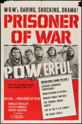 "Movie Posters:War, Prisoner of War (MGM, 1954). One Sheet (27"" X 41"") and Title Cardand Lobby Cards (6) (11"" X 14""). War.. ... (Total: 8 Items)"
