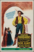 """Movie Posters:Adventure, The Private Life of Don Juan (Film Classics, R-1957). One Sheet(27"""" X 41""""). Adventure.. ..."""