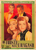 "Movie Posters:Drama, I Want You (RKO, 1952). Italian 2 - Foglio (39"" X 55"").. ..."