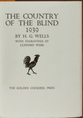 Books:Literature 1900-up, Clifford Webb [illustrator]. H. G. Wells. The Country of theBlind 1939. Golden Cockerel Press, 1939. Limited ...