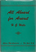 Books:Literature 1900-up, H. G. Wells. All Aboard for Ararat. Alliance Book, 1941. First American edition, first printing. Mild rubbing to...