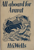 Books:Literature 1900-up, H. G. Wells. All Aboard for Ararat. Secker & Warburg, 1940. First edition, first printing. Light foxing to page edge...