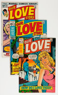 Silver Age (1956-1969):Romance, Our Love Story Savannah pedigree Group (Marvel, 1969-71) Condition: Average VF/NM.... (Total: 11 Comic Books)
