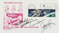 Autographs:Celebrities, Apollo 8 Crew-Signed Launch Cover. ...