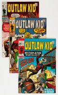 Bronze Age (1970-1979):Western, Outlaw Kid Savannah pedigree Group (Marvel, 1970-71) Condition: Average NM-.... (Total: 8 Comic Books)