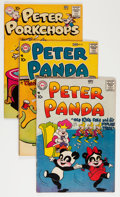 Golden Age (1938-1955):Cartoon Character, Peter Panda and Peter Porkchop Savannah pedigree Group (NationalPeriodicals, 1957-60).... (Total: 3 Comic Books)
