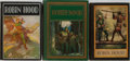 Books:Children's Books, [Robin Hood]. N. C. Wyeth and Others. Group of Three IllustratedEditions. Various publishers. Minor rubbing to bindings. Ve...(Total: 3 Items)