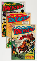 Silver Age (1956-1969):Science Fiction, Rip Hunter Time Master Savannah pedigree Group (DC, 1962-64) Condition: Average VF/NM.... (Total: 5 Comic Books)