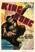 "Movie Posters:Horror, King Kong (RKO, R-1938). One Sheet (27.5"" X 41"").. ..."