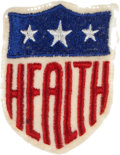 "Baseball Collectibles:Others, 1942 ""Health"" Patch, Worn on All Major League Jerseys...."