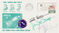 Explorers:Space Exploration, Apollo 9 Crew-Signed Launch Cover....