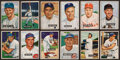 Baseball Cards:Sets, 1951 Bowman Baseball Collection (153) With Over 50 High Numbers. ...
