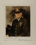 """Autographs:Military Figures, Henry H. """"Hap"""" Arnold Signed Photograph...."""