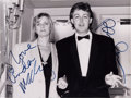 Music Memorabilia:Autographs and Signed Items, Beatles Paul and Linda McCartney Signed Photo (Press Association,1986)....
