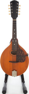 Musical Instruments:Amplifiers, PA, & Effects, Late 1920s/Early 1930s Gibson Style A Mandolin. ...