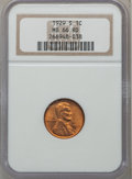 Lincoln Cents: , 1929-S 1C MS66 Red NGC. NGC Census: (22/3). PCGS Population (21/0).Mintage: 50,148,000. Numismedia Wsl. Price for problem ...