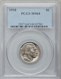 Buffalo Nickels: , 1918 5C MS64 PCGS. PCGS Population (370/233). NGC Census: (221/76).Mintage: 32,086,314. Numismedia Wsl. Price for problem ...