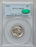 Buffalo Nickels: , 1915 5C MS65 PCGS. CAC. PCGS Population (441/279). NGC Census:(298/85). Mintage: 20,987,270. Numismedia Wsl. Price for pro...