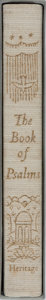 Books:Religion & Theology, [Bible]. The Book of Psalms. Heritage Press, 1960. Reprint edition. Minor toning to slipcase, else fine....
