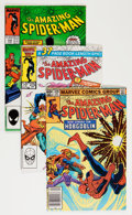 Modern Age (1980-Present):Superhero, The Amazing Spider-Man Group (Marvel, 1980-87) Condition: AverageVF/NM.... (Total: 62 Comic Books)