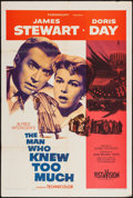"Movie Posters:Hitchcock, The Man Who Knew Too Much (Paramount, 1956). One Sheet (27"" X 41""). Hitchcock.. ..."