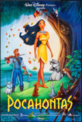 """Movie Posters:Animation, Pocahontas (Buena Vista, 1995). One Sheet (27"""" X 40"""") SS Forest Style. Animation.. ..."""