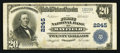 National Bank Notes:Kentucky, Mayfield, KY - $20 1902 Plain Back Fr. 657 The First NB Ch. # 2245....