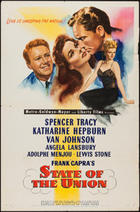 """State of the Union (MGM, 1948). One Sheet (27"""" X 41""""). Drama"""
