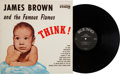 Music Memorabilia:Recordings, James Brown and the Famous Flames Think! Rare Cover VersionLP (King 683, 1960)....