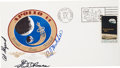 "Explorers:Space Exploration, Apollo 14 Crew-Signed ""Type One"" Insurance Cover. ..."