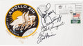 "Explorers:Space Exploration, Apollo 13 Crew-Signed (by Four, with Swigert) ""Type Two"" InsuranceCover Originally from the Personal Collection of Astronaut ..."