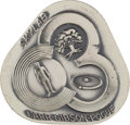 Explorers:Space Exploration, Skylab III (SL-4) Flown Silver Robbins Medallion Originally from the Personal Collection of Astronaut Jack Lousma, Serial Numb...