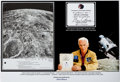 "Explorers:Space Exploration, Apollo 17 Flown ""Arabia (3 of 3)"" Map from the CSM LunarLandmark Maps Book Originally from the Personal Collectio..."