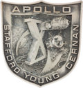 Explorers:Space Exploration, Apollo 10 Flown Silver Robbins Medallion Originally from thePersonal Collection of Mercury Seven Astronaut Wally Schirra,Ser...