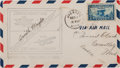 Explorers:Space Exploration, Apollo 15 Flown 1928 Airmail Cover Signed by Orville Wright withSigned LOA from Mission Command Module Pilot Al Worden....