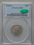 Barber Dimes: , 1898-O 10C AU58 PCGS. CAC. PCGS Population (7/52). NGC Census:(4/51). Mintage: 2,130,000. Numismedia Wsl. Price for proble...