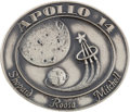 Explorers:Space Exploration, Apollo 14 Flown Silver Robbins Medallion Originally from thePersonal Collection of Mercury Seven Astronaut Wally Schirra,Ser...