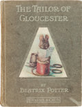 Books:Children's Books, Beatrix Potter. The Tailor of Gloucester. London: FrederickWarne & Co., Ltd, [1903, though later]. Later printing...